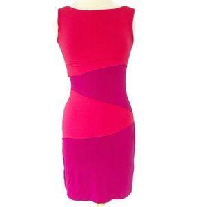 Cynthia Rowley Colorblock Midi Dress XS